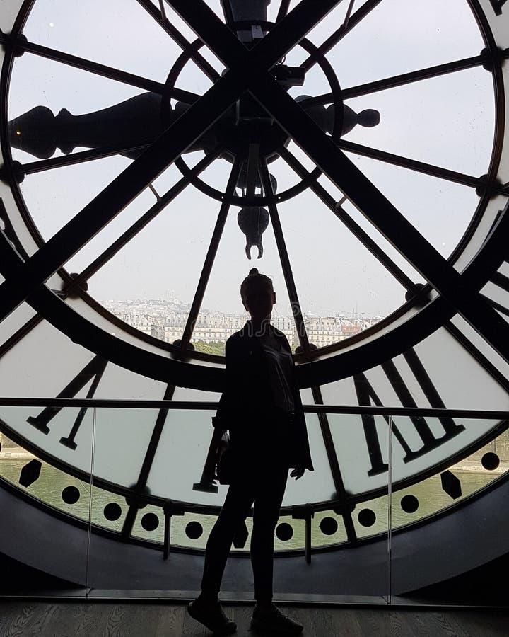 Orsay Museum stockbilder
