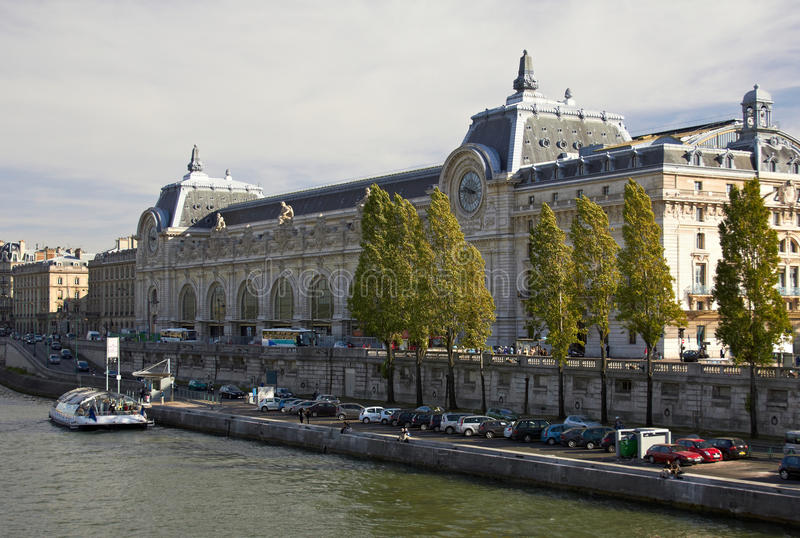 Download Orsay Museum stock image. Image of city, river, clock - 23710225