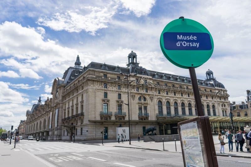 Orsay Museum stockbild