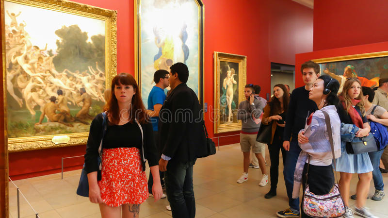 Orsay-Museum (Musee d'Orsay) stockfotografie