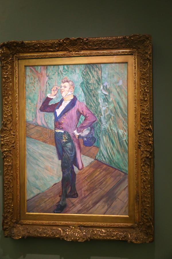 Orsay-Museum - Paris stockbild