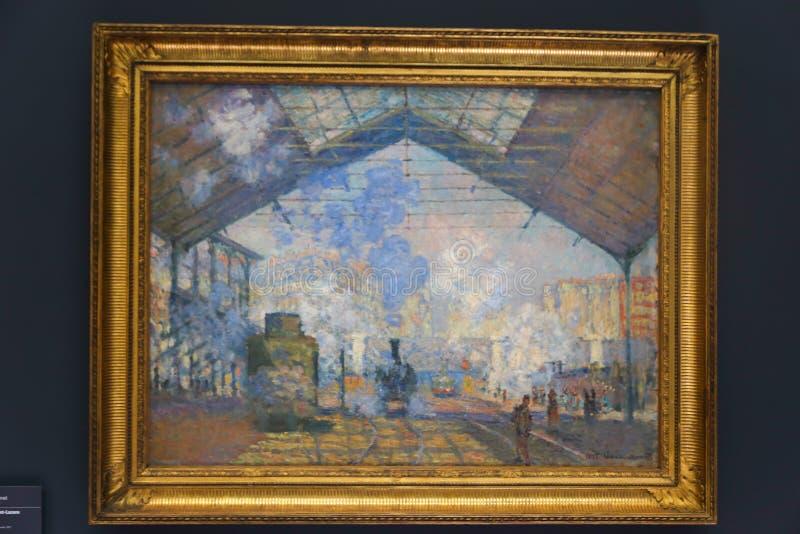Orsay-Museum - Paris lizenzfreie stockbilder