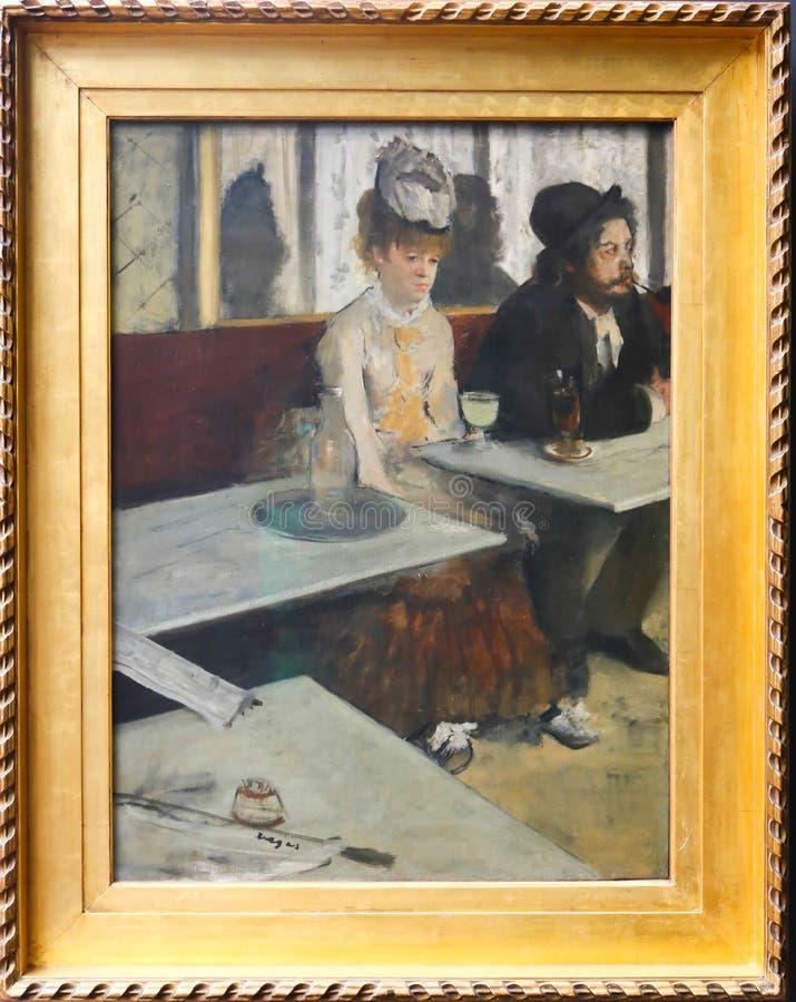 Orsay-Museum - Paris stockfotos