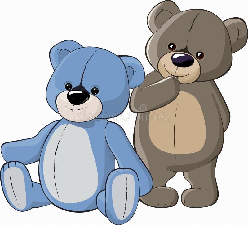 Orsi dell'orsacchiotto royalty illustrazione gratis