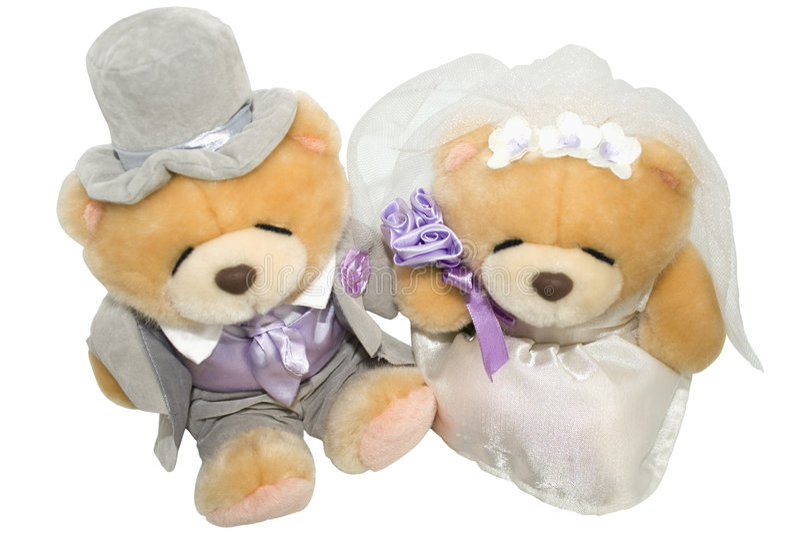 Orsi Wedding immagini stock