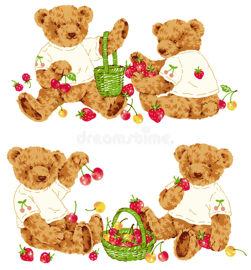 Orso adorabile royalty illustrazione gratis