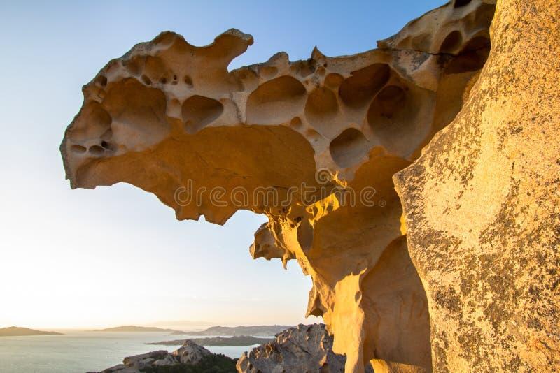 Orso del ` de la ceja D, Palau, Cerdeña, Italia fotos de archivo