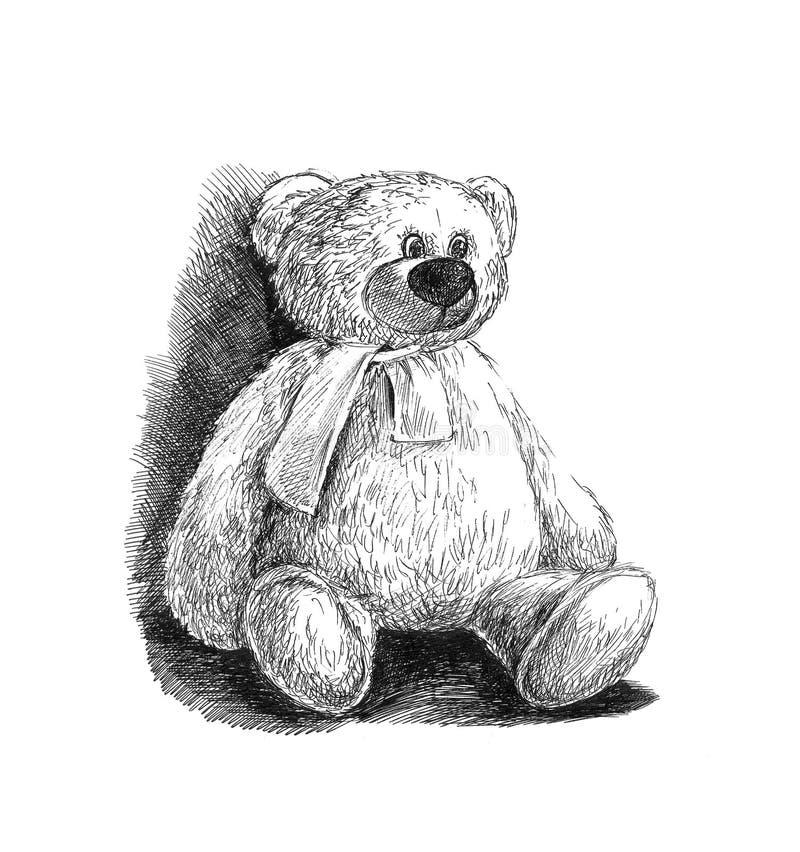 Orso del giocattolo royalty illustrazione gratis