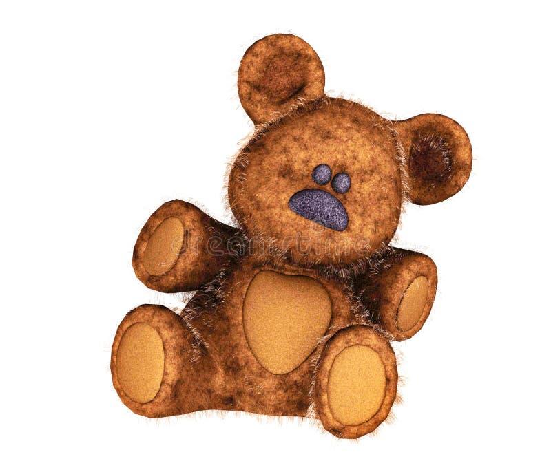 Orso dell'orsacchiotto royalty illustrazione gratis