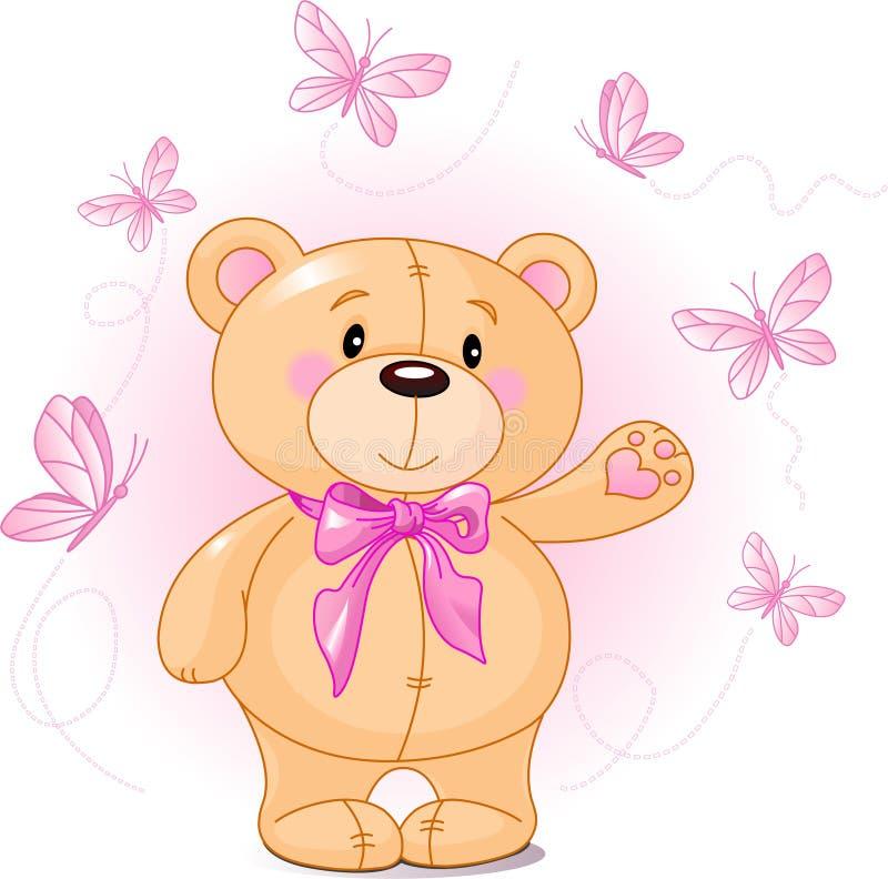 Orso dell'orsacchiotto illustrazione di stock