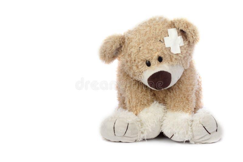 Orso Hurt dell'orsacchiotto fotografia stock