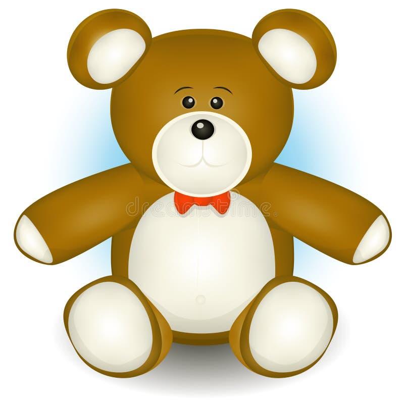 Orso sveglio dell'orsacchiotto illustrazione di stock