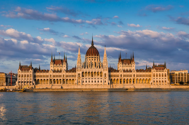 Orszaghaz, Hungarian Parliament, Budapest royalty free stock images