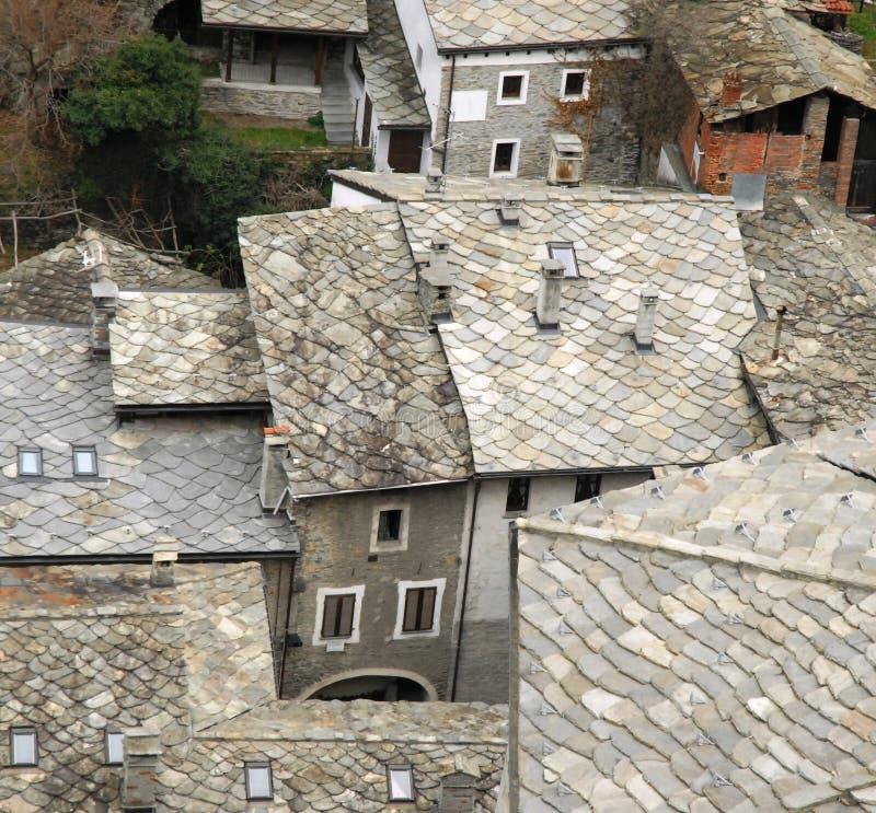 Ort bard i bard w Aosta dolinie obrazy royalty free