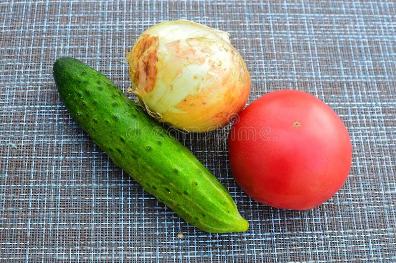 Ortaggi freschi per insalata fotografie stock