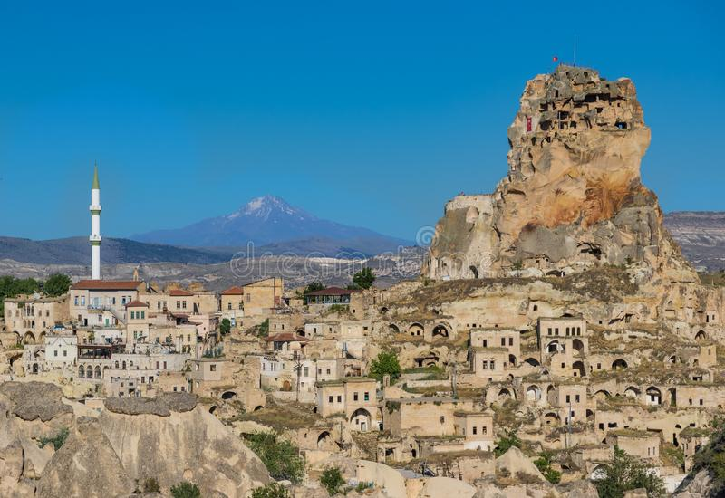 The wonderful landscape of Cappadocia stock images