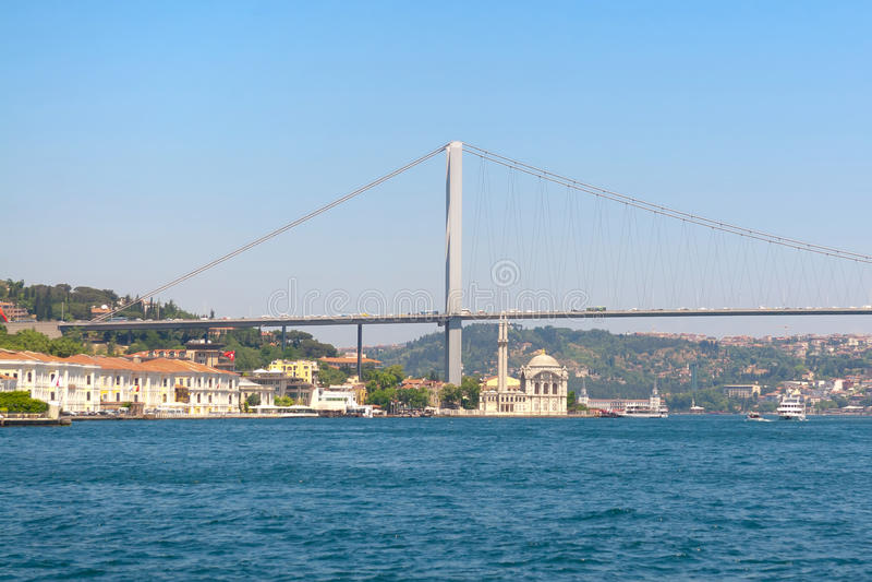 Ortakoy, Bosphorus photographie stock