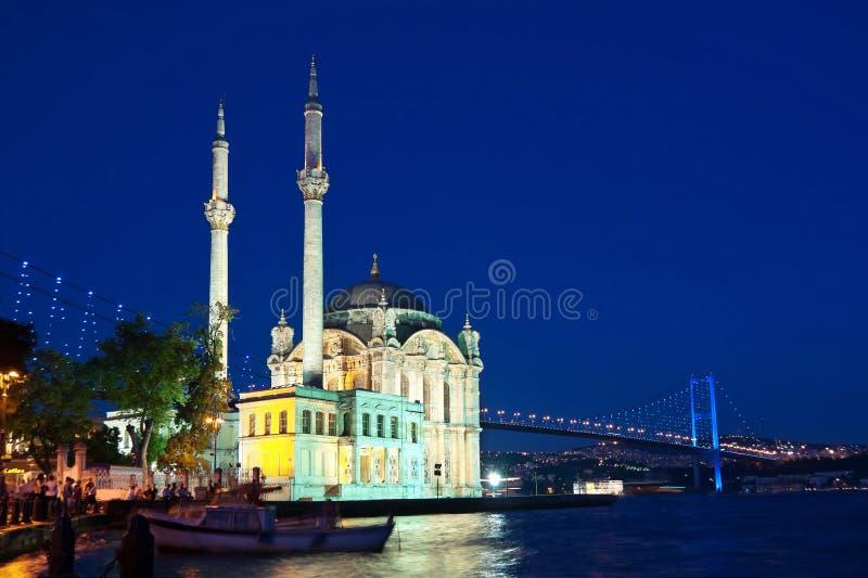 Ortakoy, Costantinopoli fotografie stock