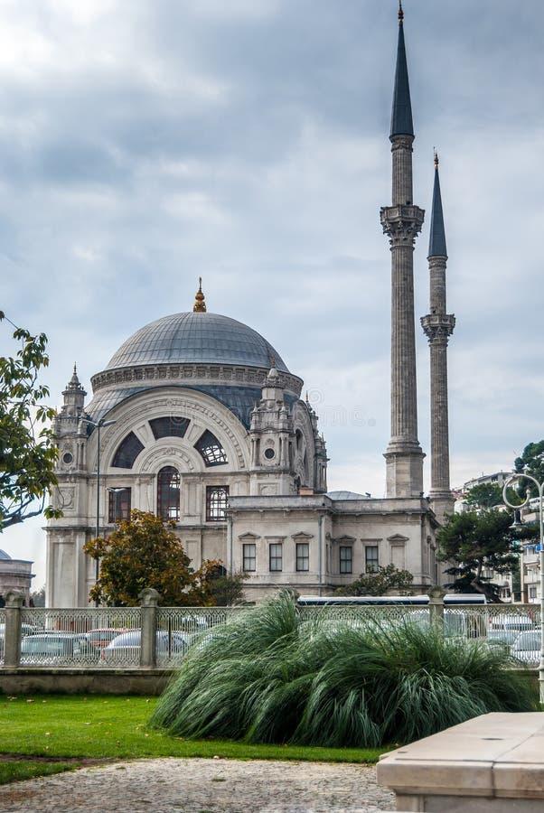 Ortakoy Mosque in Besiktas, Istanbul, Turkey royalty free stock photo