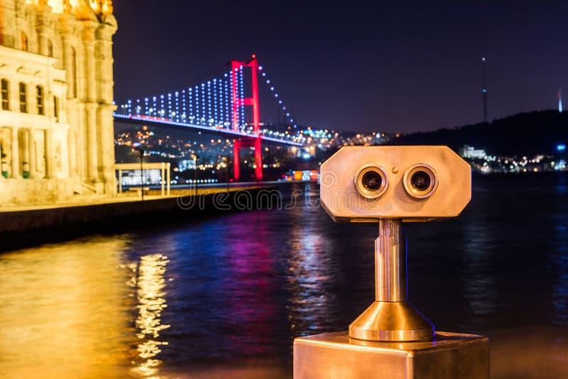 Ortakoy Mosque and Bosphorus Bridge royalty free stock images