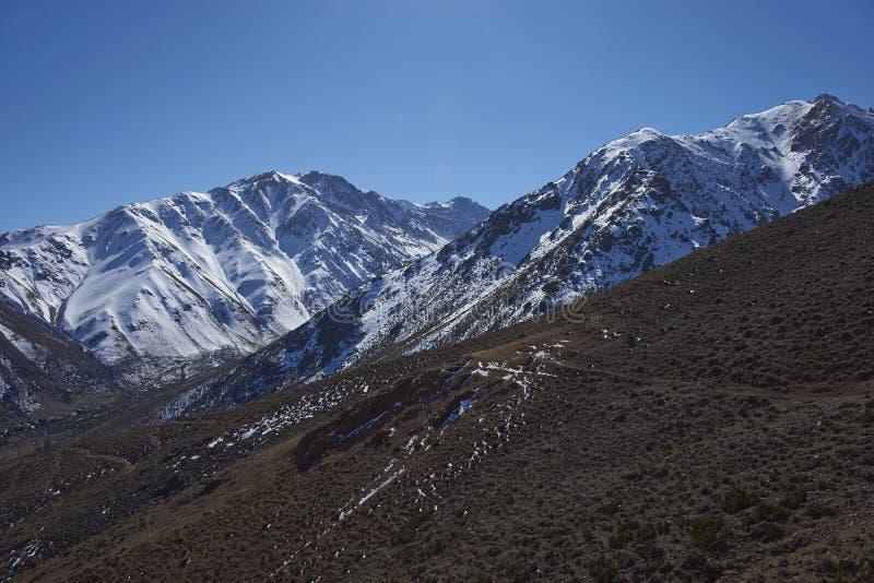 Orte Parque Yerba in Chile lizenzfreie stockbilder