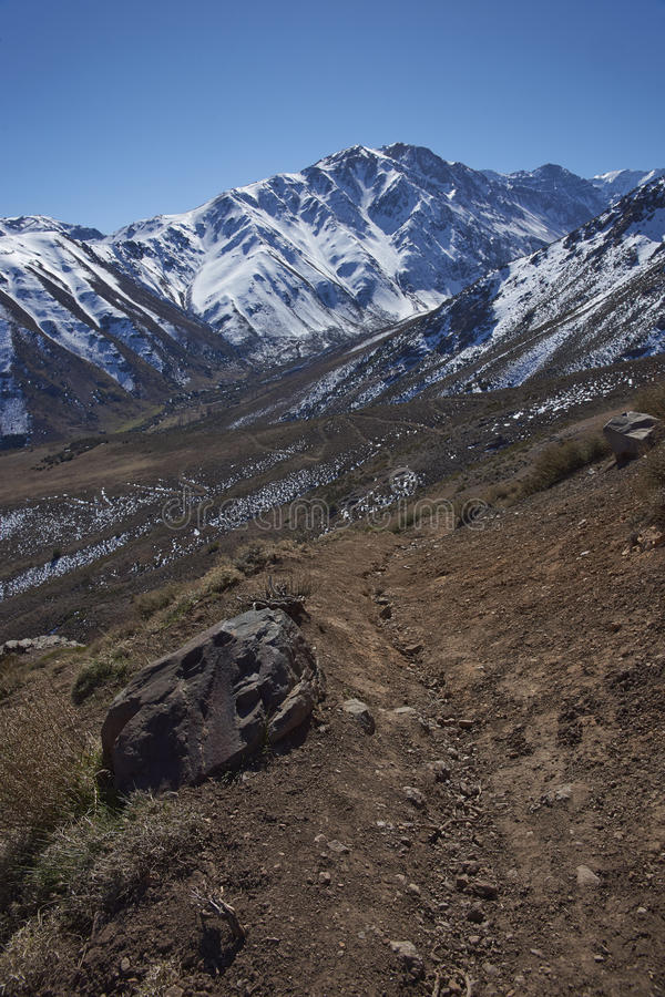Orte Parque Yerba in Chile stockfoto