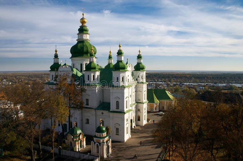 Orthodo Christianity cathedral royalty free stock images