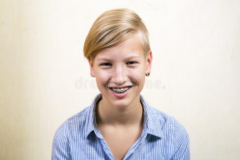 Orthodontics i kąsek korekcja zdjęcie royalty free
