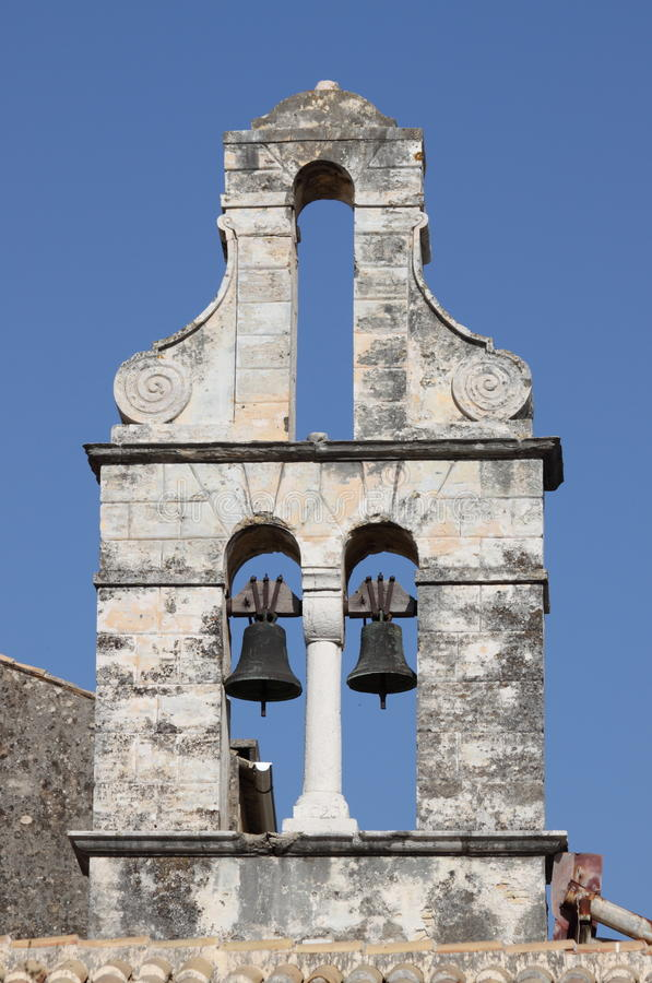 Download Orthodox Bell Tower In Corfu Stock Photo - Image of medieval, corfu: 26467380