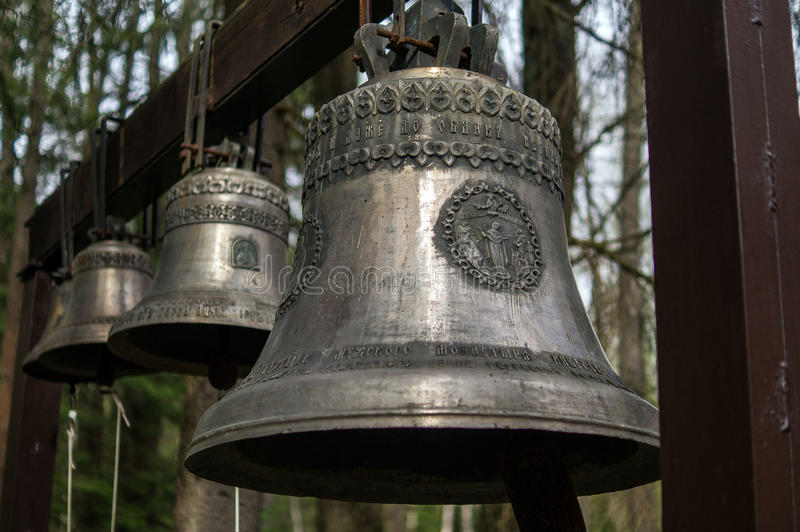 Orthodox bells. royalty free stock photography