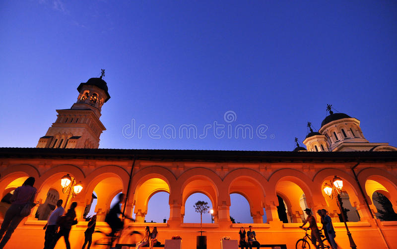 Orthodox cathedral stock photography