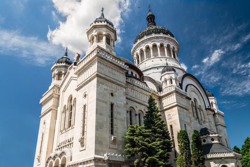 Orthodox Cathedral of Cluj,Alba,Crisana &Maramures royalty free stock photography