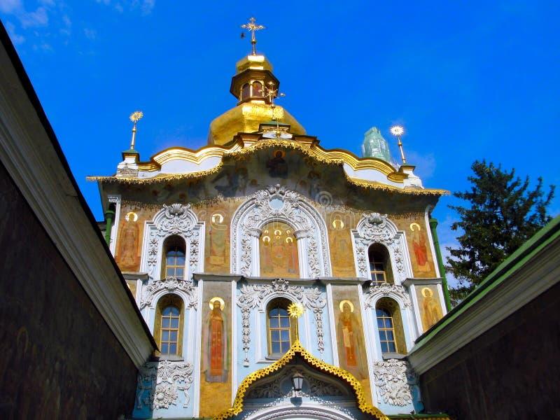 Orthodox cathedral in kiev, ukraine royalty free stock photos