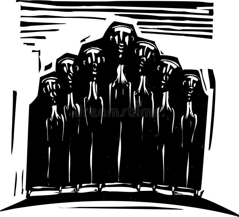 Download Orthodox Choir stock vector. Illustration of christian - 29096124