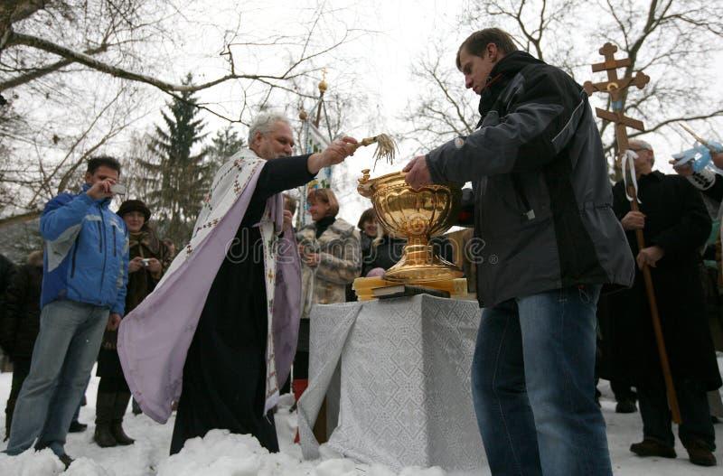 Download Orthodox Christians Celebrate Epithany Editorial Stock Photo - Image of brno, ukrainian: 12610888