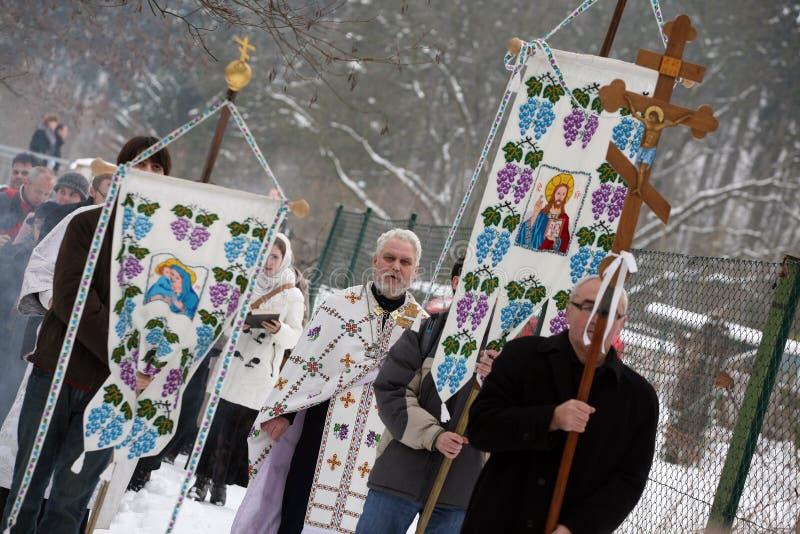 Download Orthodox Christians Celebrate Epithany Editorial Stock Image - Image: 12611499