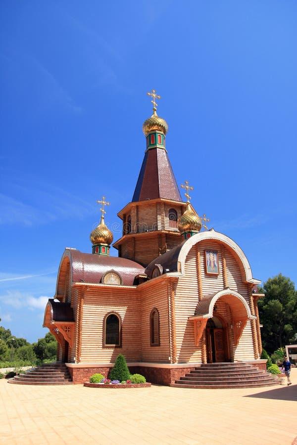 Orthodox church. Russian orthodox church in Altea - Alicante stock photos