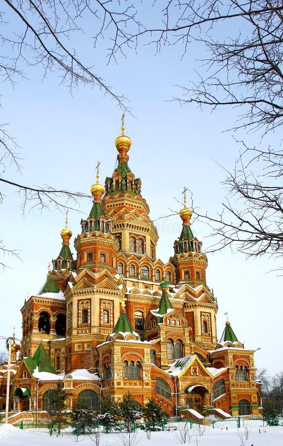 Download Orthodox Church stock image. Image of golden, brick, european - 18326785
