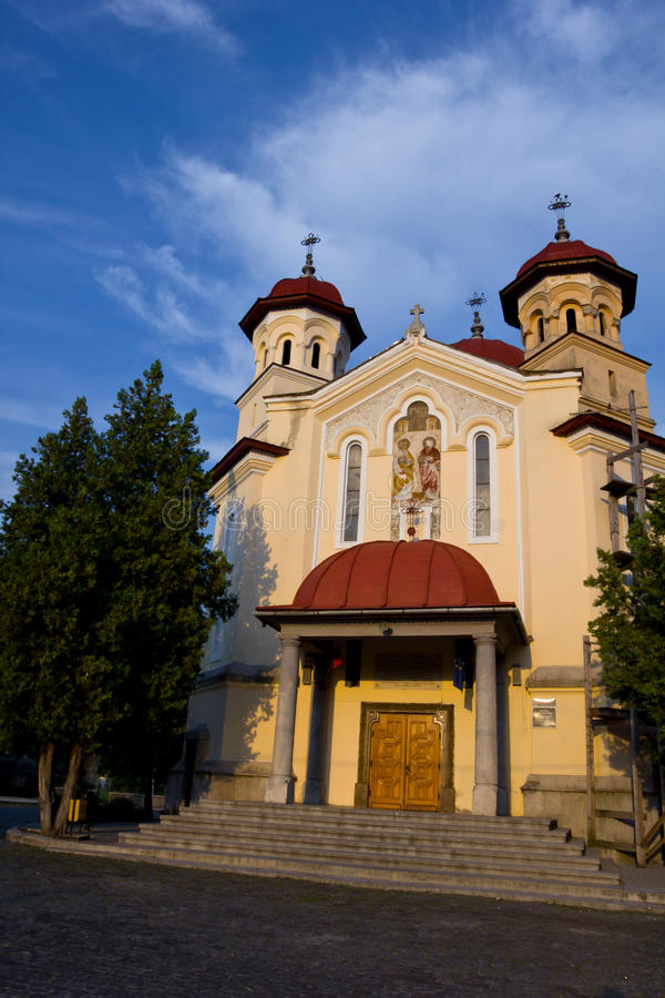 Download Orthodox church stock photo. Image of petru, blue, architecture - 22297000