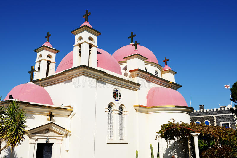 Download Orthodox Church stock photo. Image of flag, capernaum - 28026600