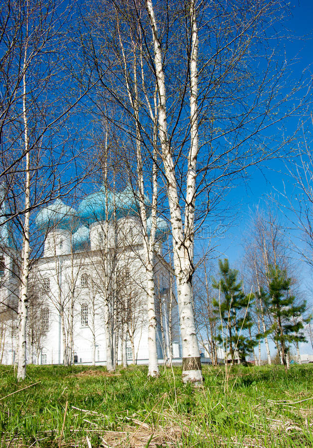 Orthodox church.Arkhangelsk royalty free stock images