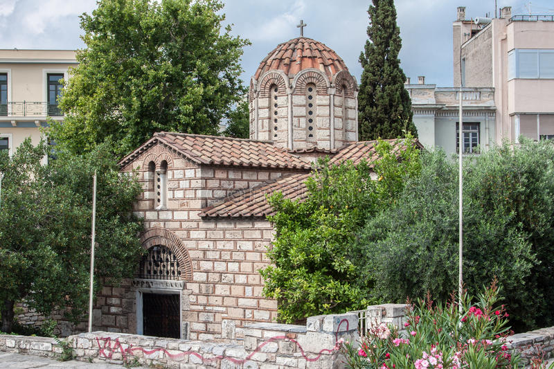 Download Orthodox Church Athens stock image. Image of tower, blooming - 29391147