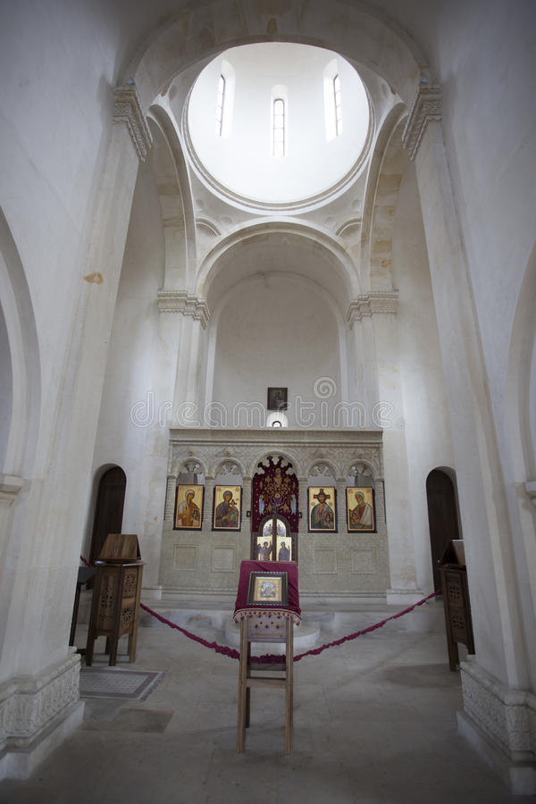 Orthodox church in Batumi, Georgia. Georgia – September 14, 2015: Orthodox church in Batumi royalty free stock photo