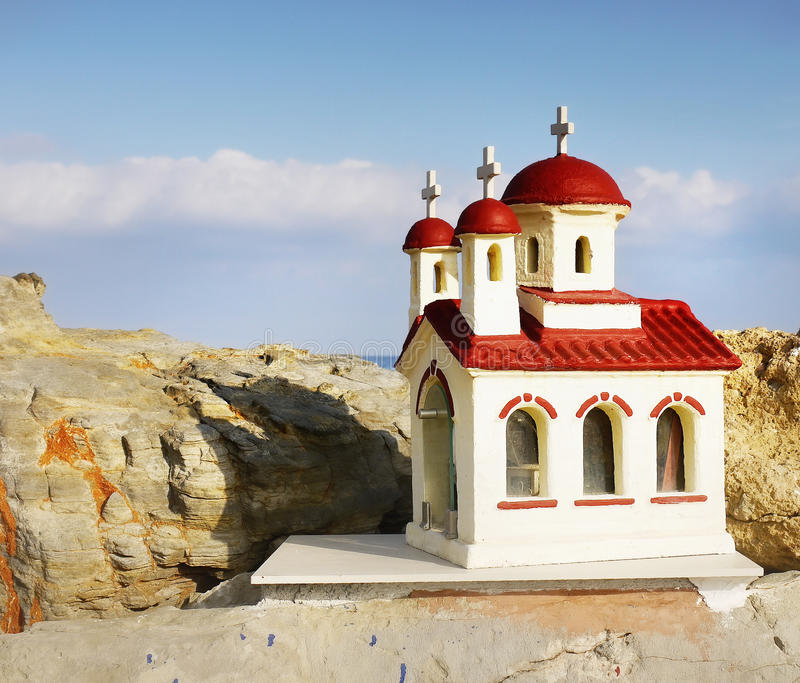 Orthodox church chapel stock image