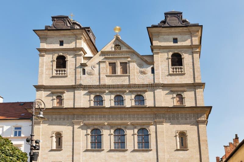 Orthodox church of the Holy Trinity in Kosice, Slovakia. royalty free stock photography