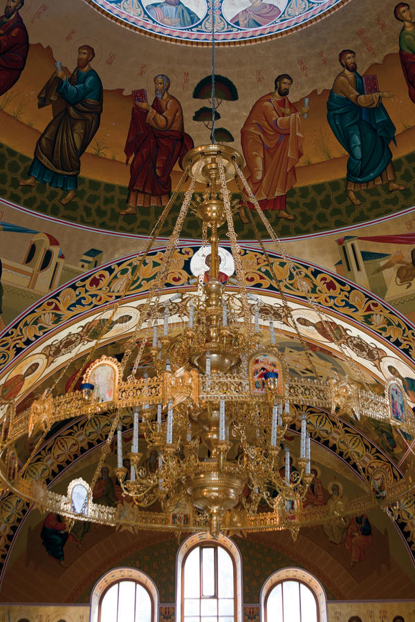 Download Orthodox church inside stock image. Image of cathedral - 15077855