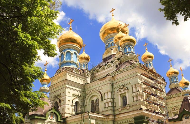 Orthodox church, Kiev stock photo