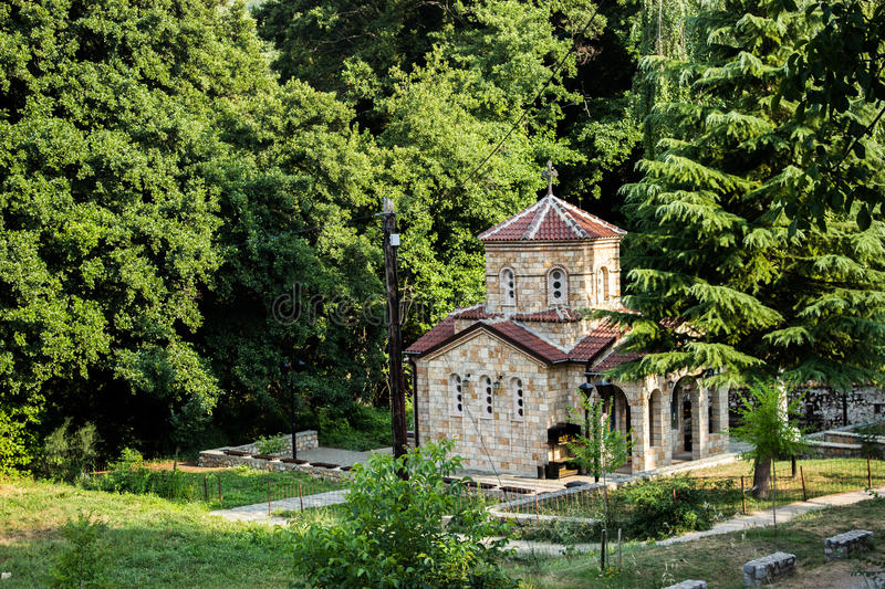 Orthodox church. A little church in Ohrid, Macedonia, near the monastery of Sv. Naum royalty free stock images