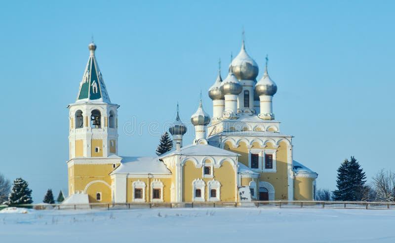 Orthodox Church. Matigory stock photography