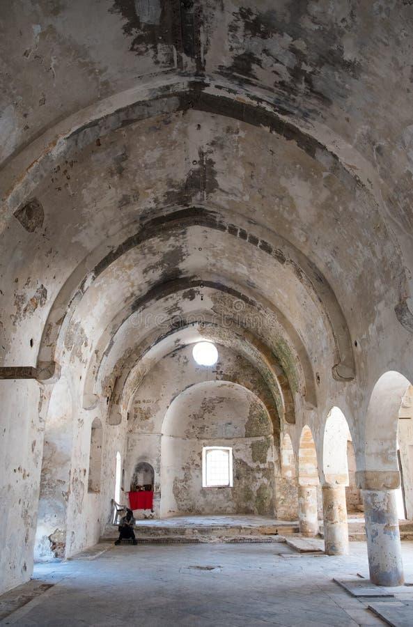 Free Orthodox Church Of Saint Panteleimon With Man Praying Stock Photo - 60059560